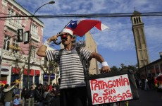 Rallies held against Hydro Dam Project in Chile (Photos)