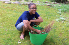 Tucker High student plants 1,000 trees