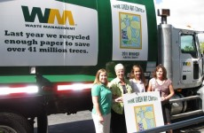 Stuart Middle School students win Waste Management's Think Green art contest
