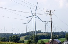 Turbines and powerlines