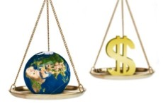 Hanging in the balance: earth or profits