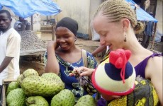 Farmers Market in Africa Peace Corps Volunteer