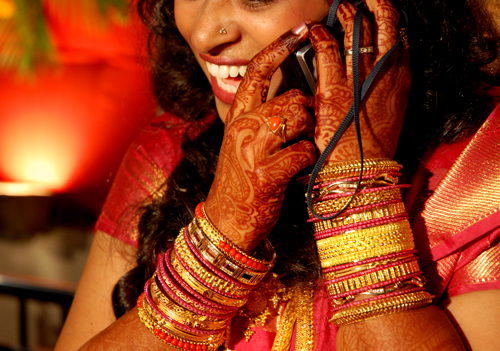 Decorated Indian Woman