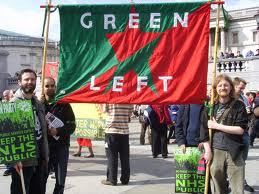 Green Left coalition for promoting watermelons