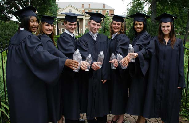 Oak Hall Cap And Gowns 100 Made From Recycled Material United