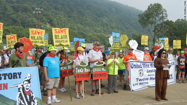 Mountain Top Removal Protest