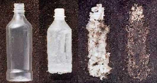 Bioplastics bottles