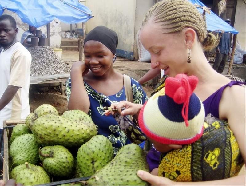 Farmers Market in Africa Peace Corps Volunteer